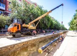 В Дзержинском районе заменят более 3,5 км теплотрассы