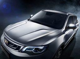 Geely Motors анонсирует старт продаж нового Geely Atlas в России