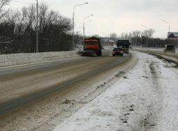 ФКУ Упрдор «Азов» устраняет последствия непогоды на южных федеральных трассах