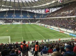 19 тысяч болельщиков протестировали  «Волгоград Арену» и сеть «МегаФона»