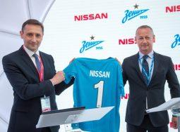 Nissan и ФК «Зенит»продлевают партнерство