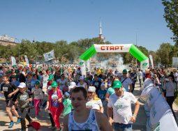 Обладателями медалей «Зеленого марафона 2018» стали 500 волгоградцев