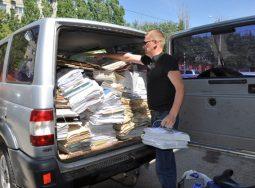 100 кг макулатуры спасут одно дерево