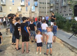Волгоградским поклонникам уличного спорта подарили новую площадку