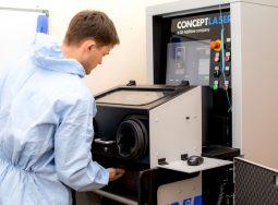 Уникальный для региона 3D-принтер по металлу начал свою работу