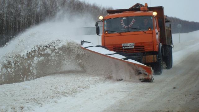 На федеральных трассах возможны неблагоприятные погодные условия