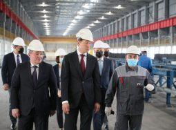Денис Мантуров посетил Волгоградский алюминиевый завод компании РУСАЛ