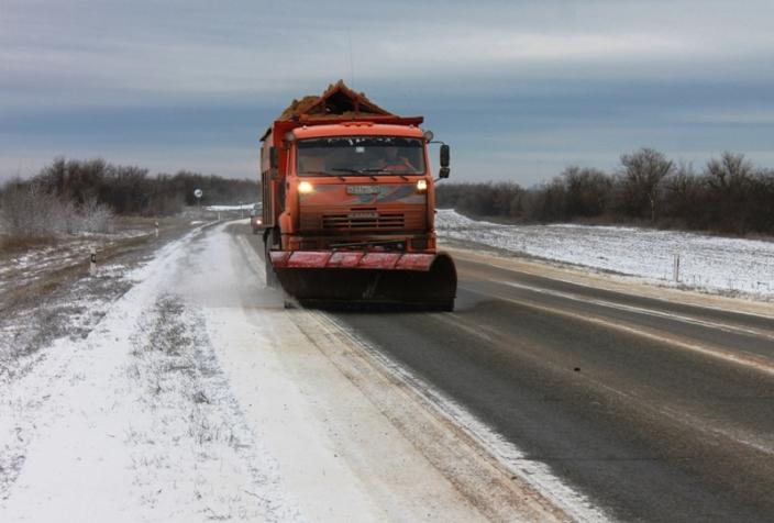 Неблагоприятные погодные условиях в Волгоградской области