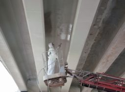 Ремонт моста через Пичугу выполнен на 45%