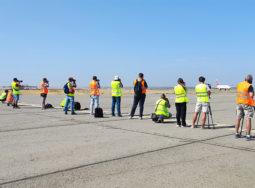 В волгоградском аэропорту состоялись соревнования по споттингу
