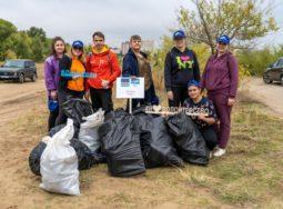 В Волгограде волонтёры собрали 168 мешков мусора в рамках акции РУСАЛа